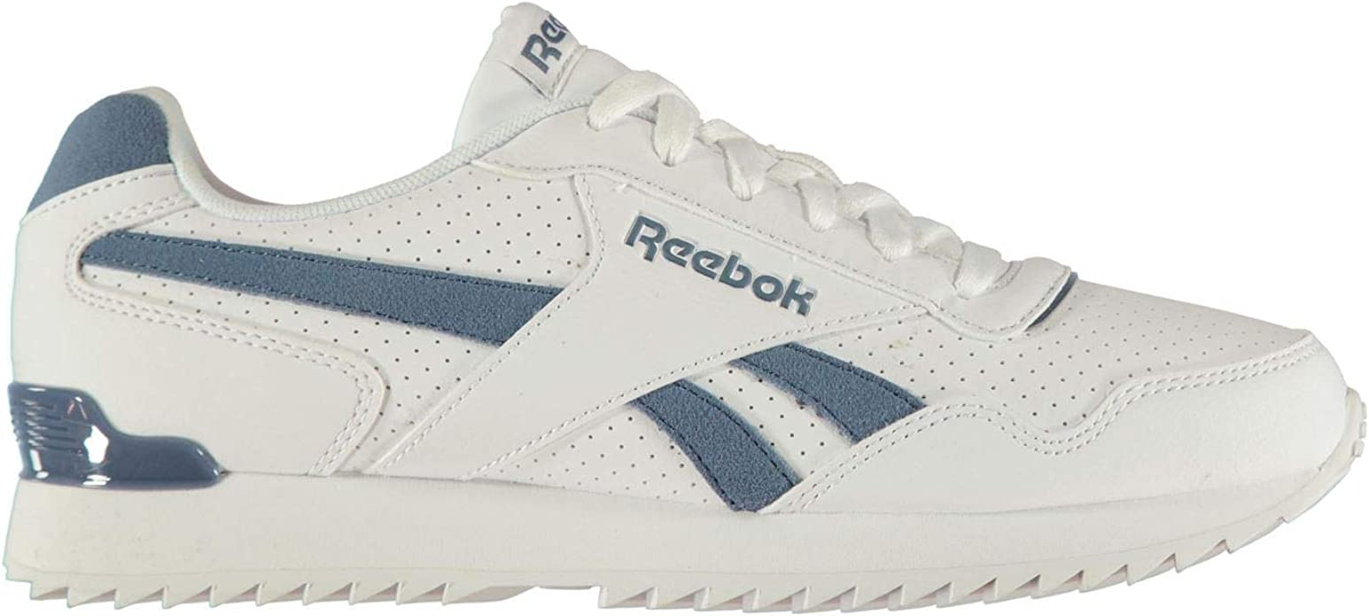 Reebok Hombre Royal Glide Ripple Clip Zapatillas Deportivas Blanco/Azul Pizarra EU 47 (UK 12): Amazon.es: Zapatos y complementos