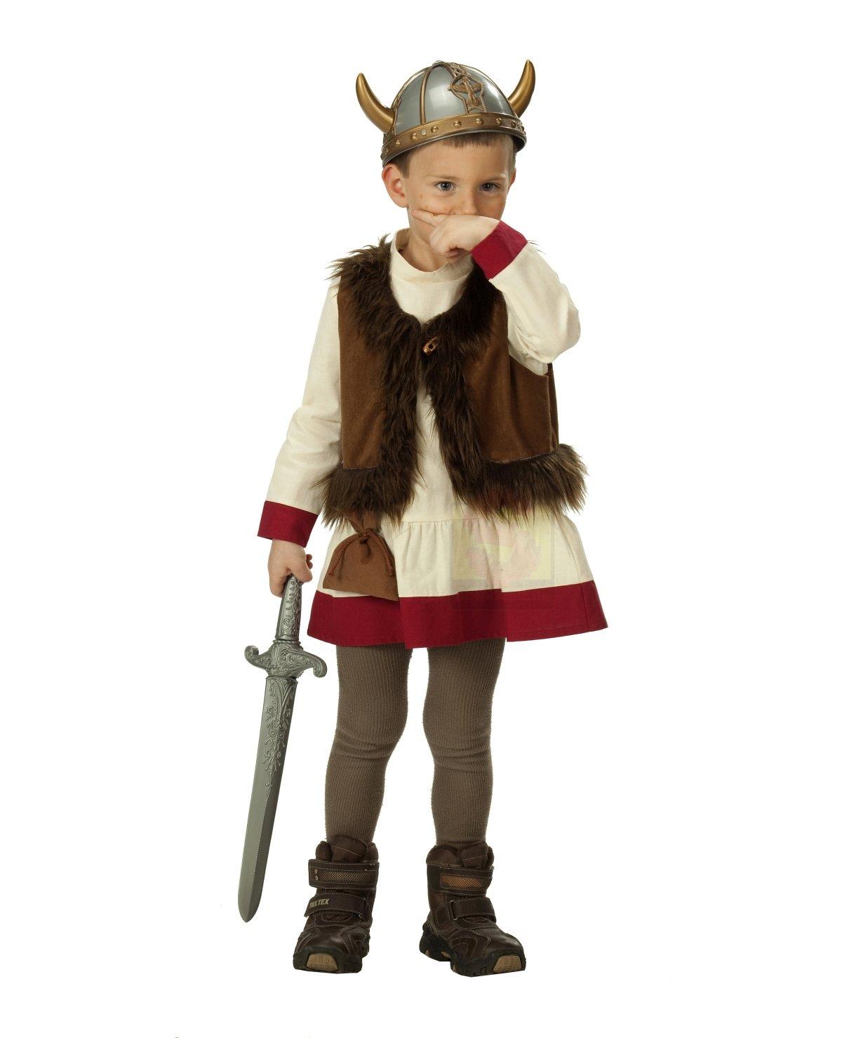 Rubies 1 2446 116 - Disfraz de vikingo para niño (talla 116 ...