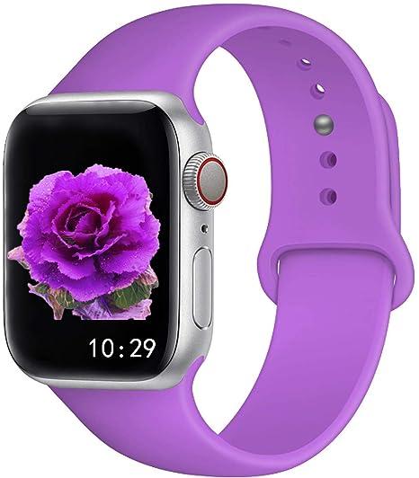 Straper Correa Apple Watch 38mm Apple Watch Series 4 40mm Silicona Correas Reloj Apple Watch Pulsera para iWatch Apple Watch Serie 3 Serie 2 Serie 1 ...