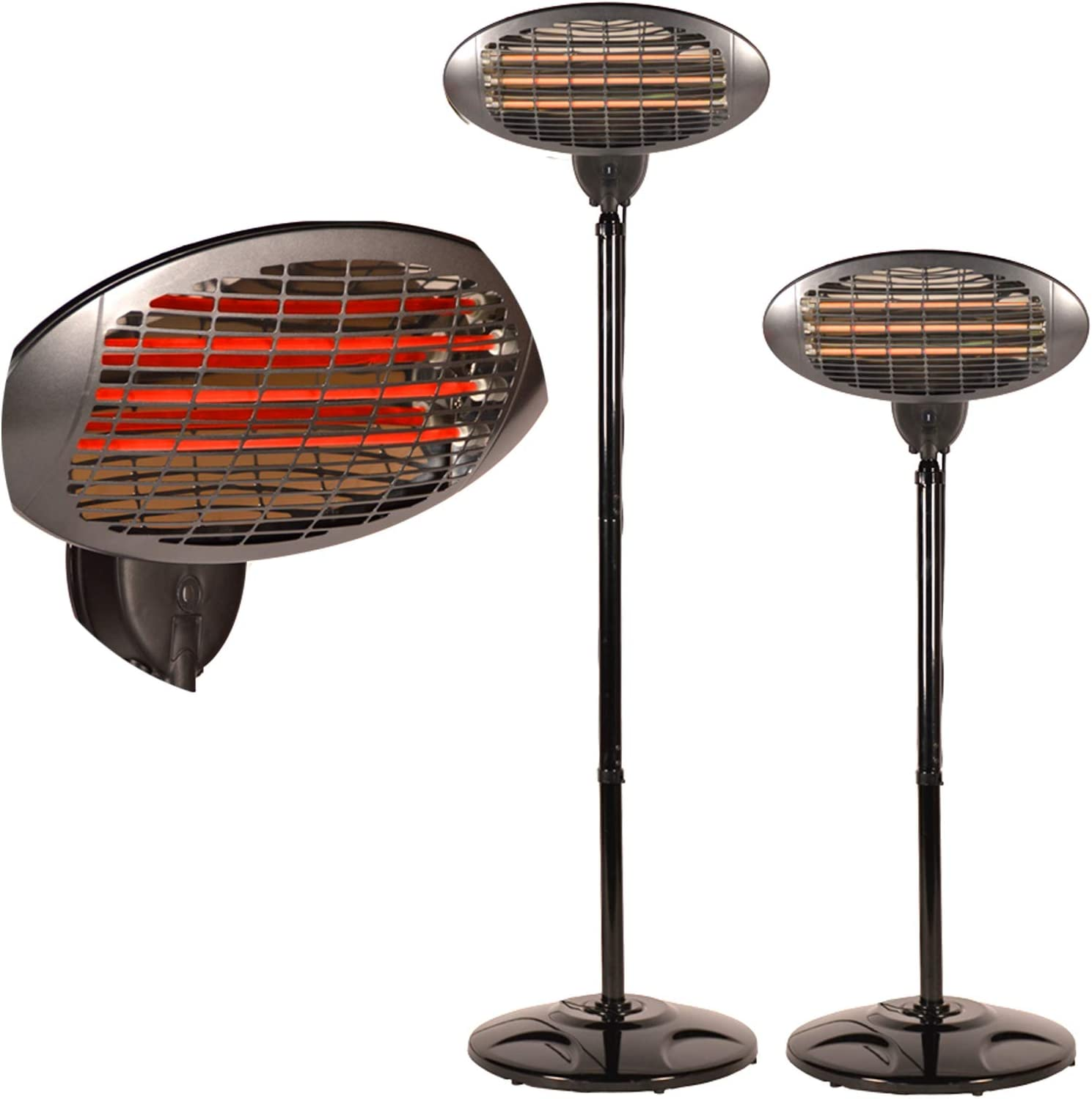DRULINE Infrared Heater Patio Heater Remote Control Model 2 with Pull Switch