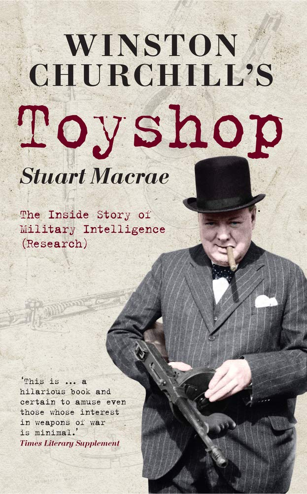 Download Winston Churchill's Toyshop: The Inside Story of Military Intelligence (Research) pdf
