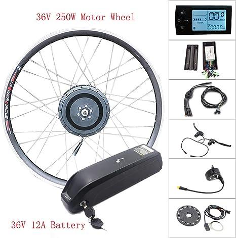 500w36v12alcd Motor Wheel 36V Ebike Kit Rueda Delantera Motor ...