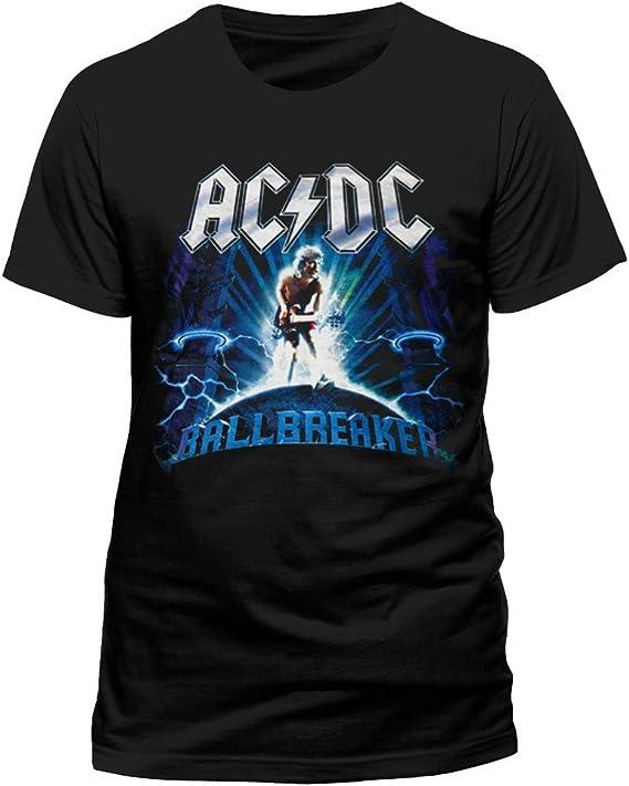Oficial de ACDC Ballbreaker Rock Heavy Metal Tee Camiseta Ropa para hombre señoras para mujer Unisex: Amazon.es: Ropa y accesorios