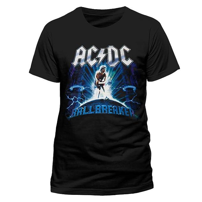 Revolution Tees Oficial de ACDC Ballbreaker Rock Heavy Metal tee Camiseta Ropa para Hombre señoras para Mujer Unisex: Amazon.es: Ropa y accesorios