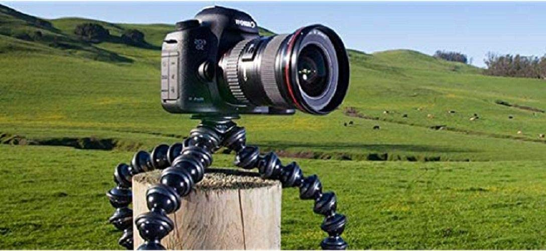 . Flexible Tripod for DSLR and Mirrorless Cameras Up To 3kg. JOBY GorillaPod SLR Zoom 6.6lbs