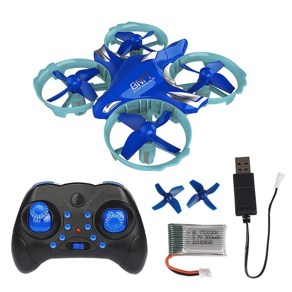 Amazon.com: LtrottedJ Mini BNFT BN308 Infrared Remote Control Drone RC Quadcopter Headless Mode: Toys & Games