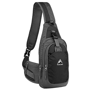 Unbalance Backpack, MALEDEN Anti-scratch Waterproof Sling Bag ...