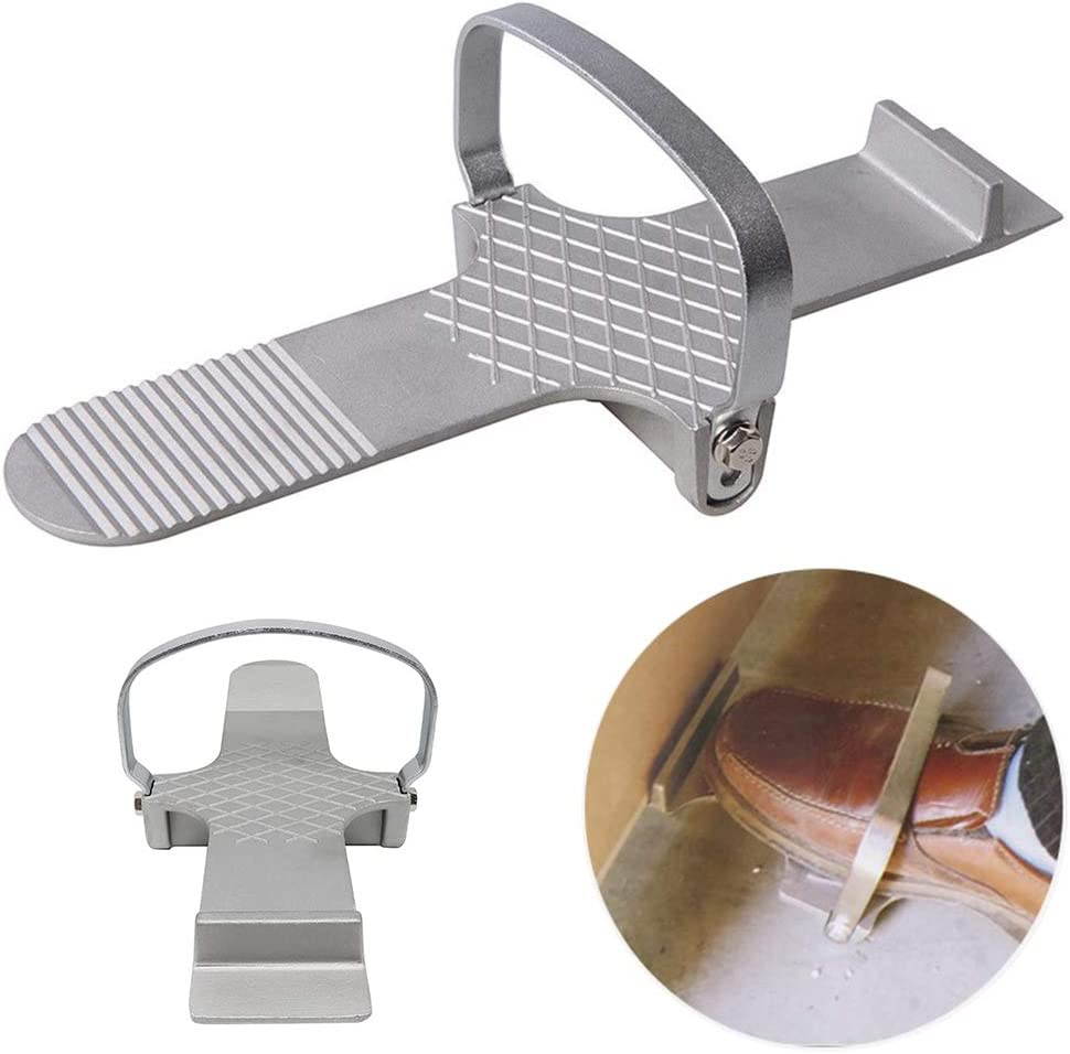 SKYHY224 Board Lifter Strong Simple Door Foot Use Multifunctional Alloy Hand Tool Repair Plaster Sheet Lightweight Anti Slip Drywall Plate Control