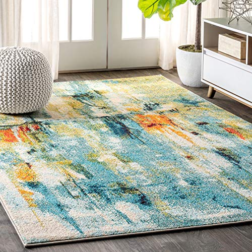 JONATHAN Y CTP100A-5 Contemporary POP Modern Abstract Area Rug 5' 3