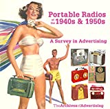 Portable Radio ad CD 1940s-1950s 100 different ads!