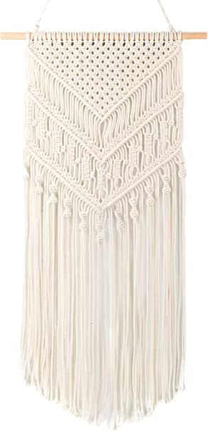 Macrame Wall Hanging Tapestry Home Apartment Dorm Geometric Art Decor Craft UK