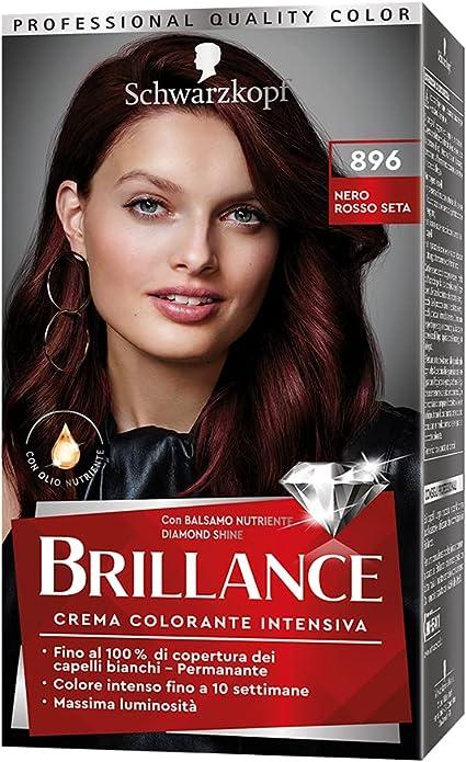 TESTANERA Brillantez 896 negro de seda roja - tintes para el ...