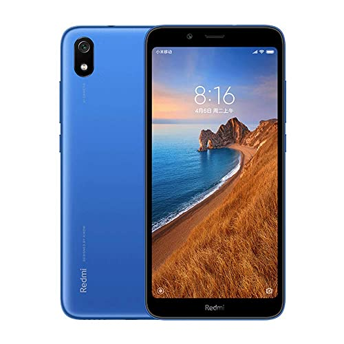 Xiaomi Redmi 7A Smartphone 2GB RAM 16GB ROM Dual SIM 5 45 Pantalla Completa Qualcomm Snapdragon SDM439 Octa Core Procesador Fuente Grande Cámara Trasera de 13MP Cámara Frontal de 5MP Azul