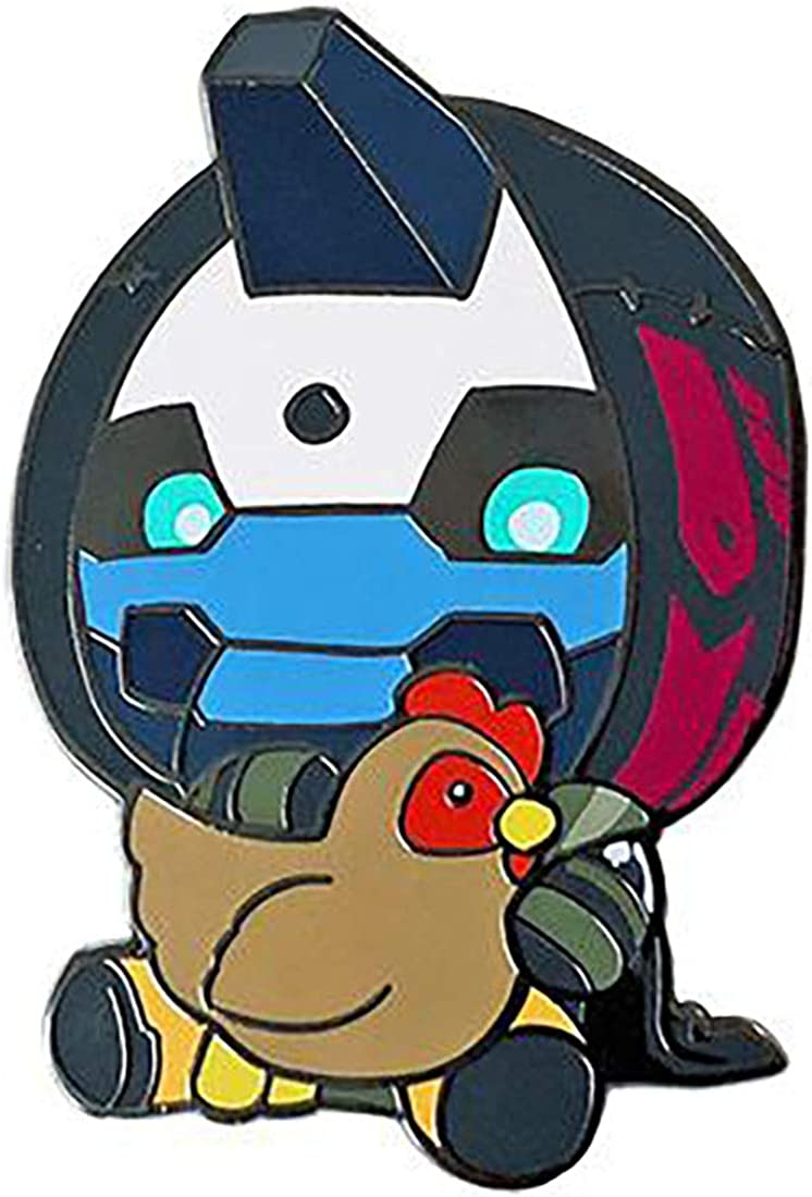 Destiny Cayde-6 with Chicken Pin