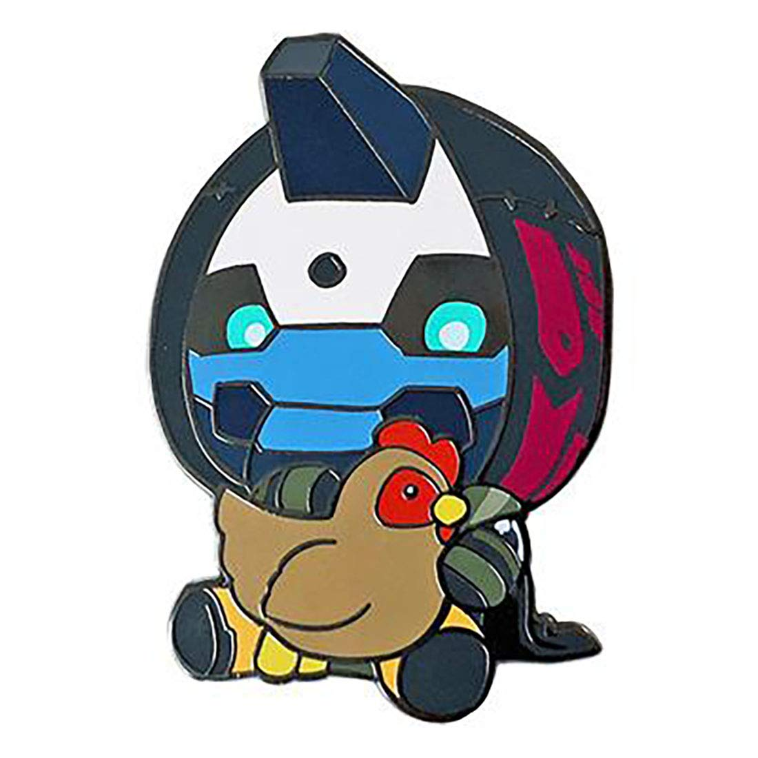 Amazon com: Destiny Cayde-6 with Chicken Pin: Clothing