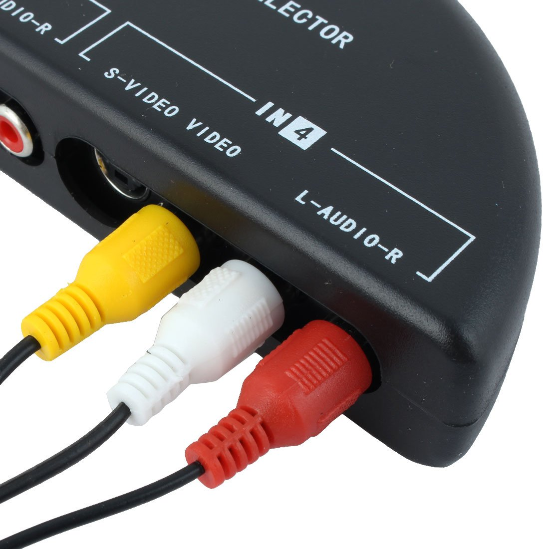 Amazon.com: Mosuch 4-Way Audio Video AV RCA Switch Game Selector Box ...