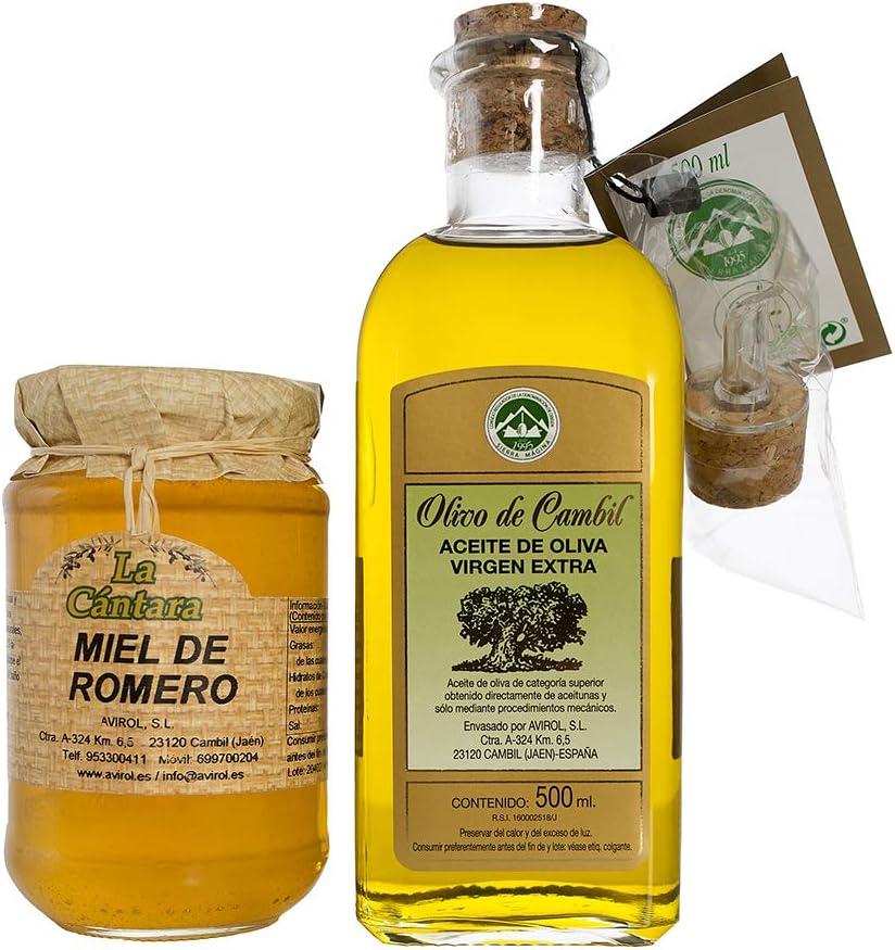 Olivo de Cambil Aceite y Miel, Pack de 1: Amazon.es: Alimentación y bebidas