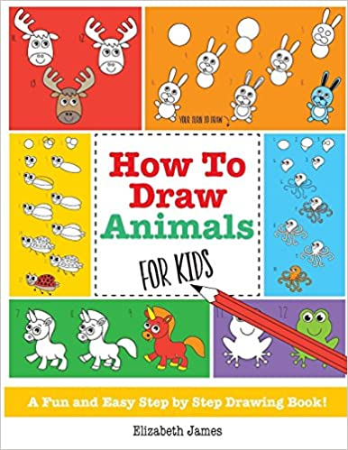 How To Draw Animals For Kids A Fun And Easy Step By Step Drawing
