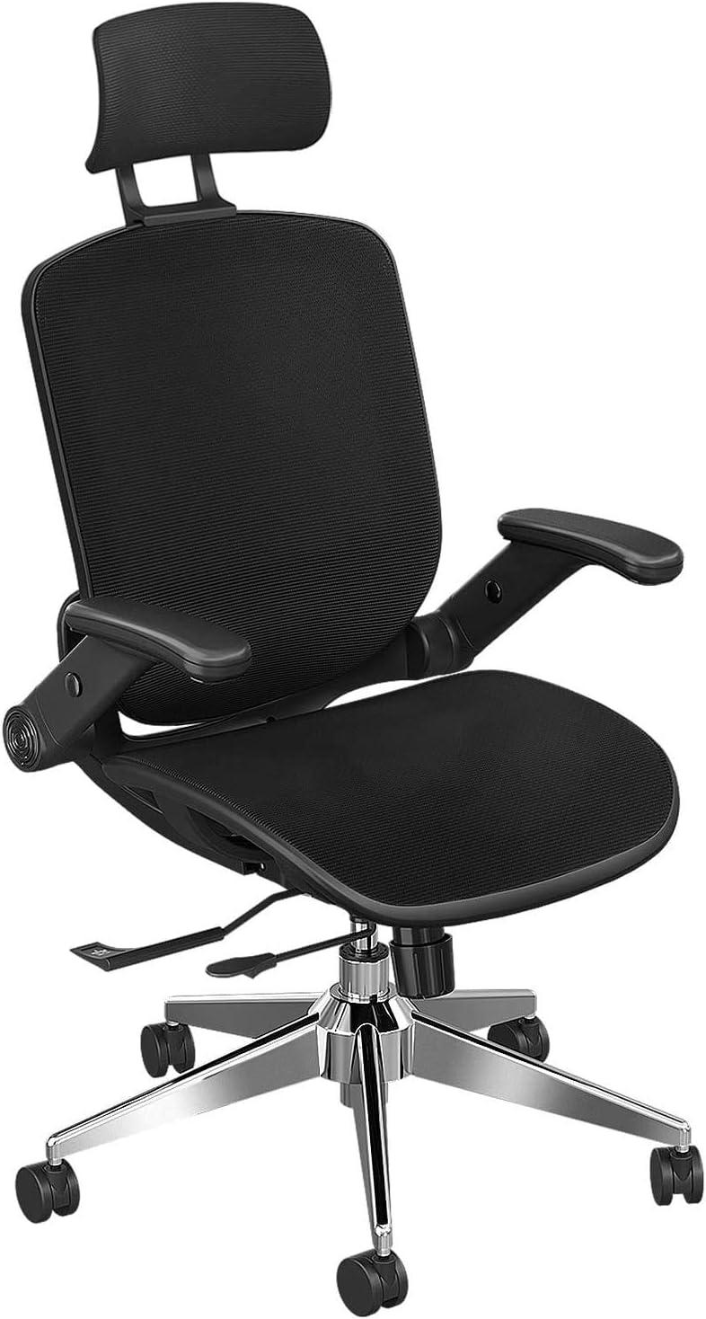 Ergonomischer Bürostuhl, Mesh-Stuhl Schreibtischstuhl mit hoher Rückenlehne