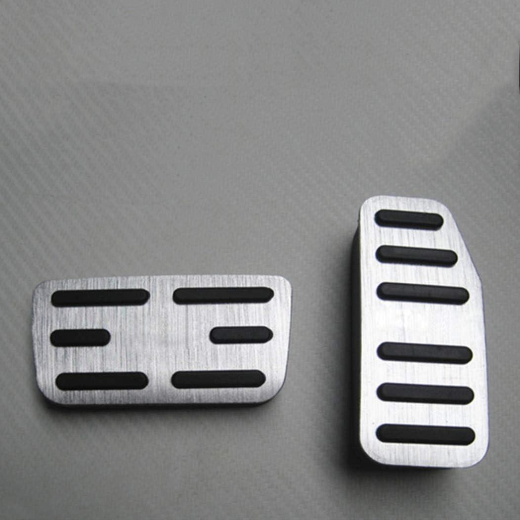 Car Accelerator Pedal For B M W Mini Cooper 2001 2011 Auto No Drilling Aluminum Brake Accelerator,Non-Slip Performance Pedal Manual Gear 4pcs