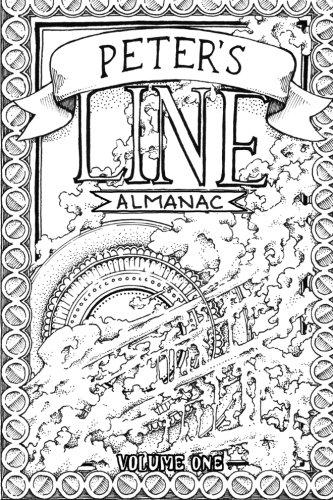 Peter's Line Almanac: Volume 1 (Peter's Line Almanacs) - Peter Abstract Print