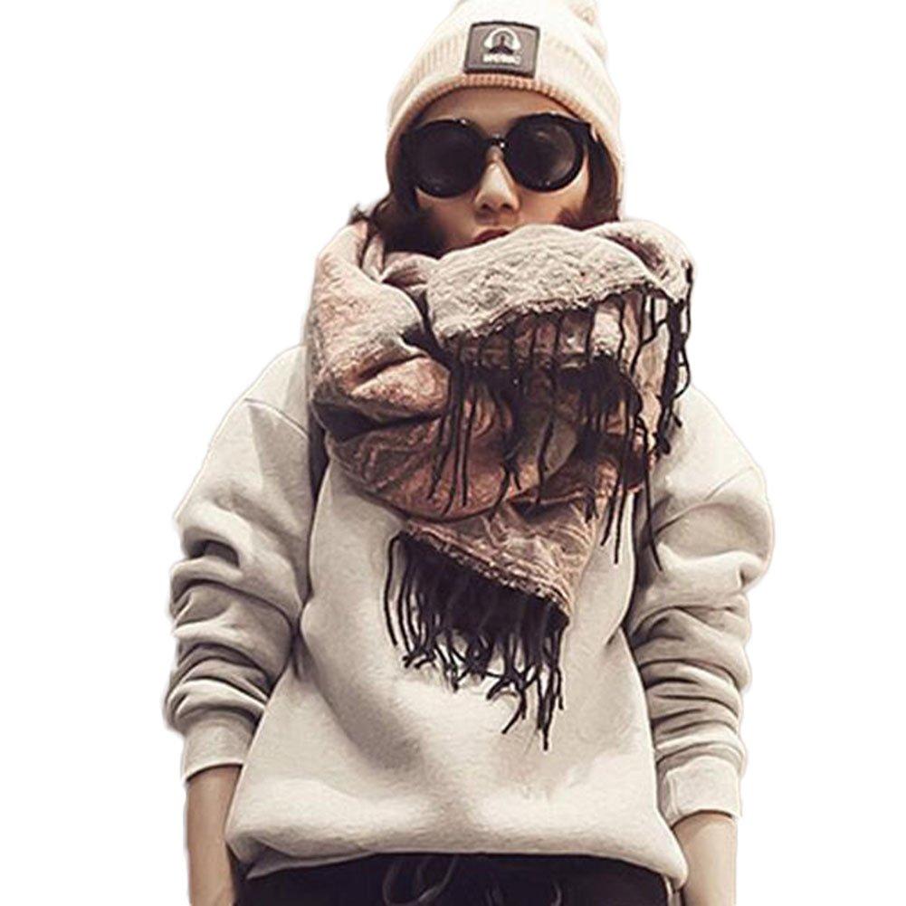 Beatayang Décharpe de châle Cozy Blanket pour femmes Lady b7578e0062f