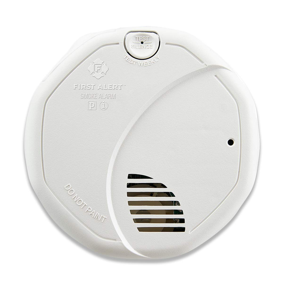 First Alert Dual-Sensor Smoke and Fire Alarm, Battery Powered, Frustration-Free Packaging, SA320CN by First Alert