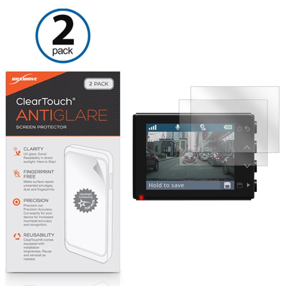 Garmin Dash Cam 45 Screen Protector, BoxWave [ClearTouch Anti-Glare (2-Pack)] Anti-Fingerprint Matte Film Skin for Garmin Dash Cam 45, Cam 55
