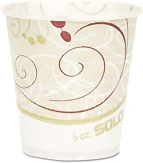 product image for Solo Paper Water Cups, Waxed, 5oz, 100/Pack R53SYMPK