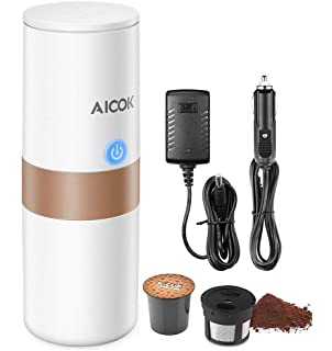 Amazon.com: Travel Coffee Maker, Electric Portable Espresso ...
