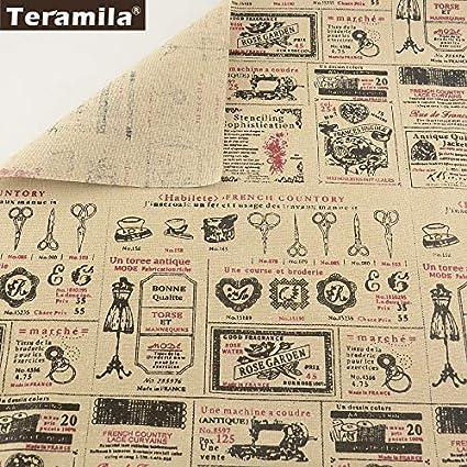 Amazon.com: Material de costura Tissu dibujo de dibujos ...