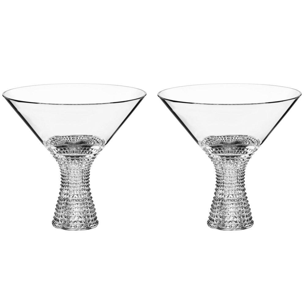 Spiegelau Specialty L&S Diamonds Martini 11.5 oz - 2 pack w/ Pourer