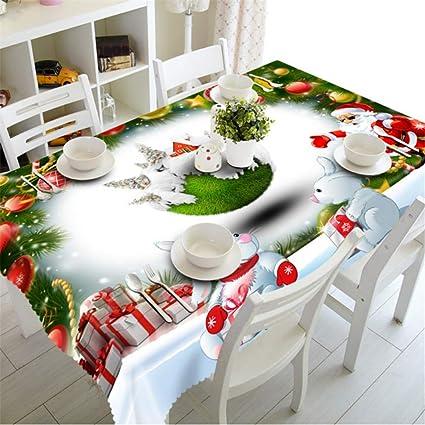 Shuangklei Tovaglia di Natale Cucina Tavolo da Pranzo ...