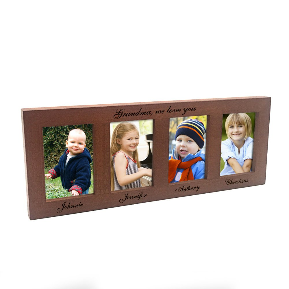 Amazon personazlied 4 openings photo frame for grandma amazon personazlied 4 openings photo frame for grandma grandpa jeuxipadfo Images