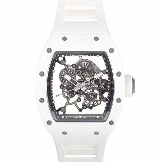 Richard Mille RM 055 mechanical-hand-wind Mens Reloj RM 055 (Certificado) de segunda mano: Richard Mille: Amazon.es: Relojes