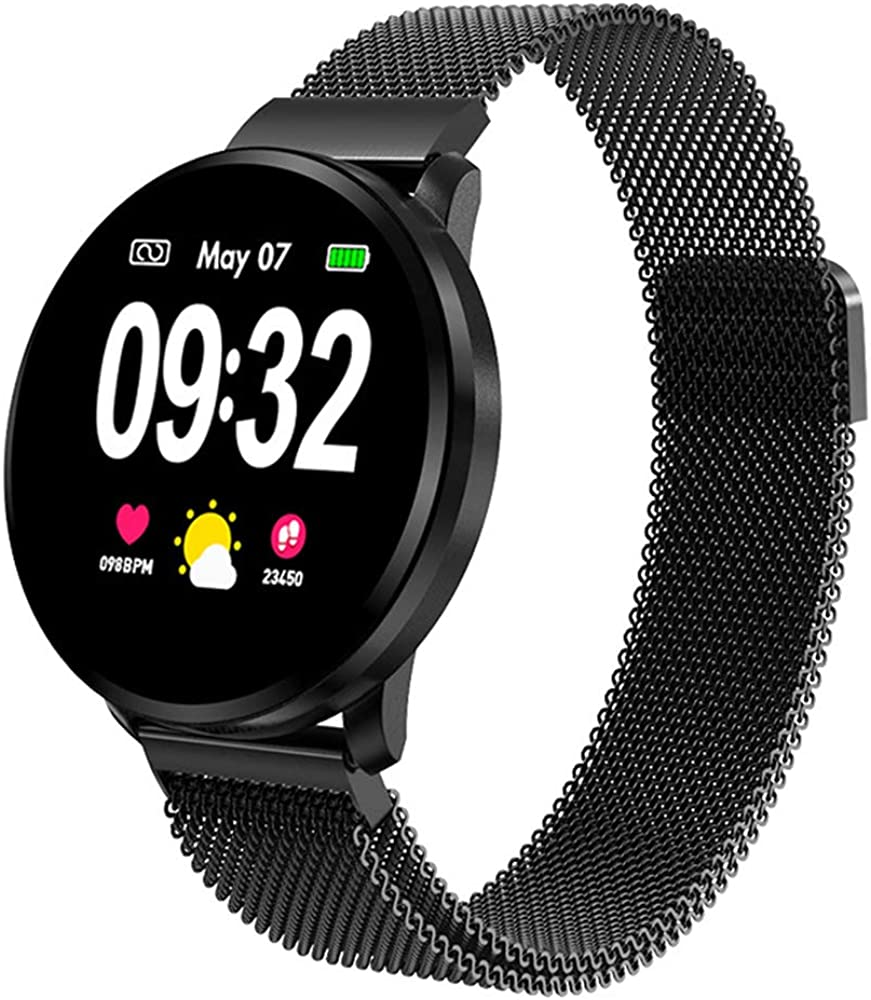 Powcan Smartwatch Mujer Hombre, Impermeable Reloj ...