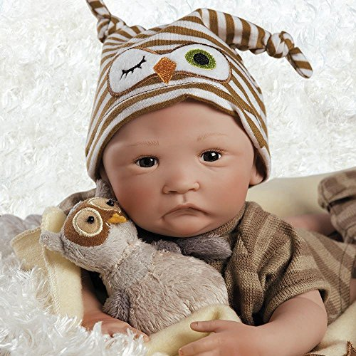 Paradise Galleries Hoot Hoot Baby Doll That Looks Like A