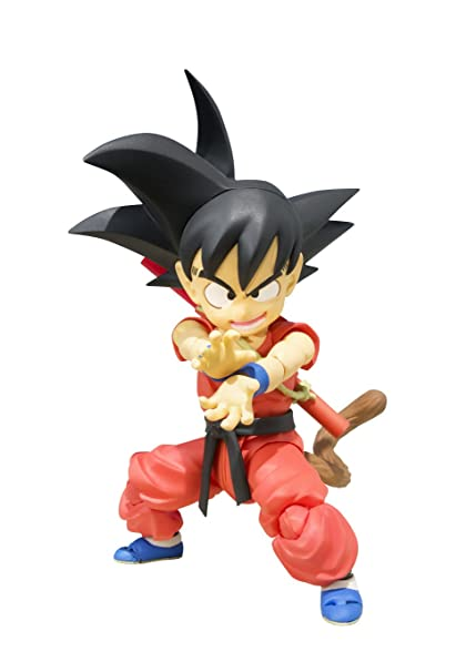 amazon com bandai tamashii nations s h figuarts kid goku dragon