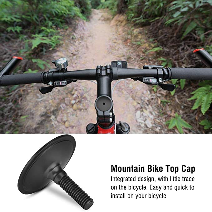 1pc aluminum bicycle headset caps mountain bike cycling headset stem top coverHF