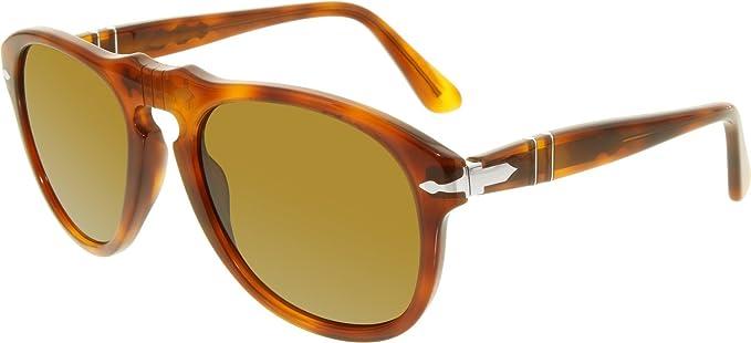15a534454b Persol PO0649 96 33 Tortoise Orange PO0649 Pilot Sunglasses Lens Category 3  S  Persol  Amazon.co.uk  Clothing