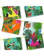 Talking Tables Fiesta partytillbehör | Fiesta cocktailservetter | Perfekt för djungeltemafester, luaufester, hawaii-fester, babyparty och födelsedagsdekorationer.