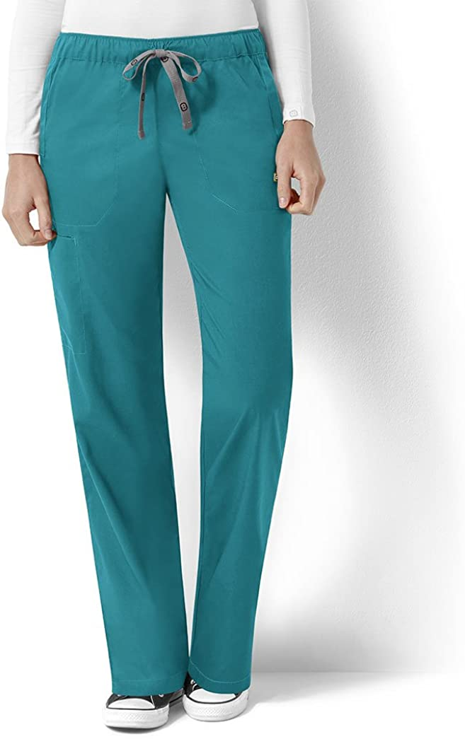 WONDERWINK Womens Next Logan Elastic//Drawstring Waist Plus Womens Scrub Pant Medical Scrubs Pants