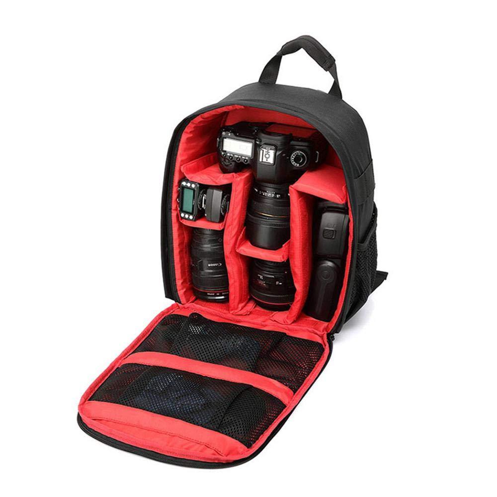 AOLVO カメラバッグ カメラバックパック 防水 三脚ホルダー付き デジタル一眼レフカメラ ミラーレスカメラ レンズ フラッシュ その他のアクセサリー用 9.845.913.4インチ B07L9NP7R8 B07L9NP7R8 #02