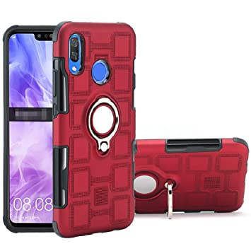 Amazon.com: Huawei 2019 Y6 Prime Case, Finger 360 Rotary ...