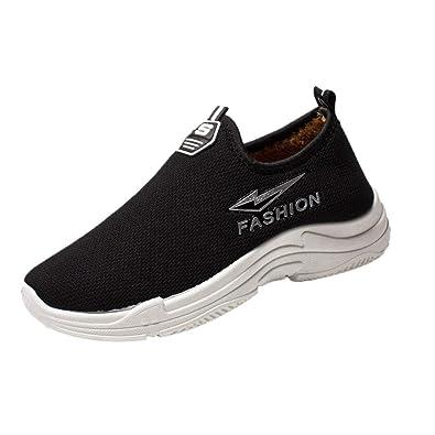 timeless design e2204 dd5d6 Women Sneaker, Sunnywill Festival Sale! Women Casual Fashion Plus Velvet  Warm Flats Shoes Winter Sneakers Popular Comfortable Platform Shoes