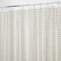 mDesign - Revestimiento interior para cortina de cubículo de ducha, de PEVA, espesor 3, SIN PVC, RESISTENTE A MOHO Y…