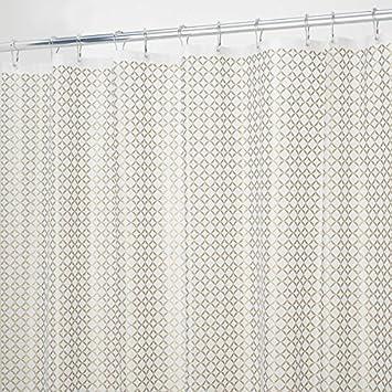 Badewanne Vorhang mdesign duschvorhang 180x200 cm gold schöner dusch