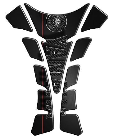 Tankpad Motorad Draht Muster Tankschutz \' Yamaha \'\' Polymer 3D ...