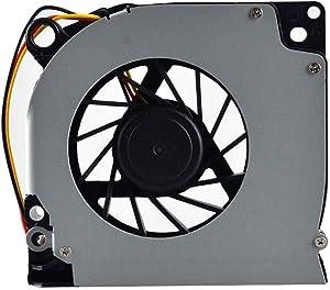SWCCF CPU Fan for Dell Latitude D620 D630 D630C D631 YT94 Inspiron 1525 1526 1545 1546 C169M NN249 Vostro 500 P/N: UDQFZZR03CCM DC28A000K0L KSB06205HA-8H04 0C169M GB0507PGV1-A DFS531205M30T