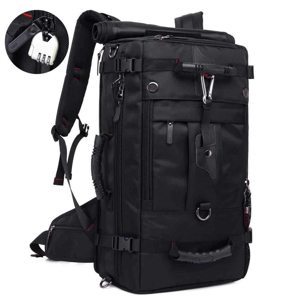 KAKA Travel Backpack,Carry-On Bag Waterproof Flight Approved Weekender duffle backpack Rucksack Daypack for Men Women (17 inch) by KAKA